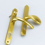 Paddle Handle Brass